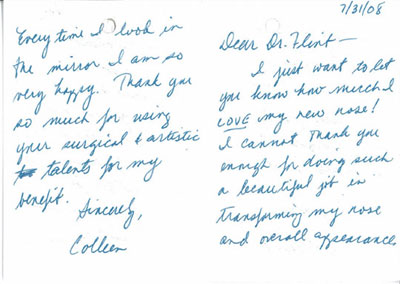 Testimonial for Dr. Patti Flint